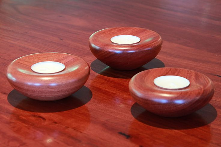 Buy Handmade Gift Bundle: T-Light Candle Set Online | Australian Woodwork