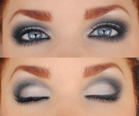 ..: Make Up, Eye Color, Eye Shadows, Beautiful, Smoky Eye, Blue Eye Makeup, Eyeshadows, Eyemakeup, Smokey Eye