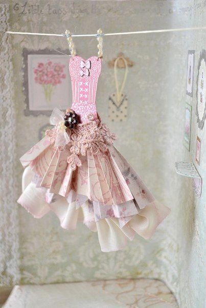 Tarjetas con vestidos-8