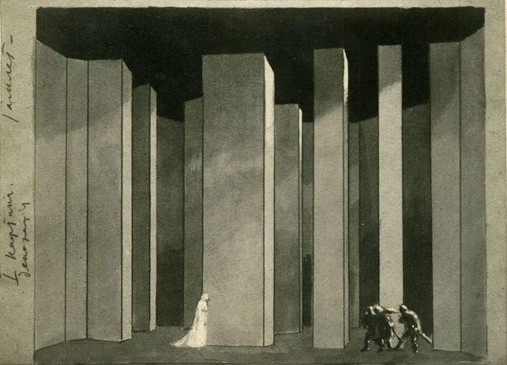 """Edward Gordon Craig """"Stage design"""""""
