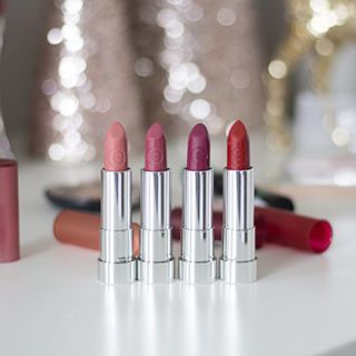 My holiday makeup look ft essencemakeup is going live on Friday Im obsessed with these matte lipsticks THEY ARE UNDER   YES FOUR DOLLARS  and I have a coupon code for you Use code TOREY at essencemakeupcom Get one in every color and let me know what your fave is essences website httpbitlyljTNOv Essence is celebrating Bring the Bash right now with  days of surprises go to essencemakeup to check it outbringthebash essencemakeup  ad