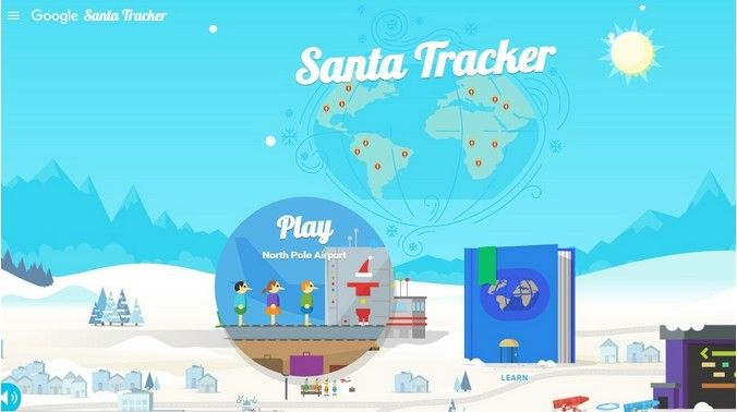 Google Microsoft launch 'Santa trackers' for kids  - Read more at: http://ift.tt/1Iv4sR7