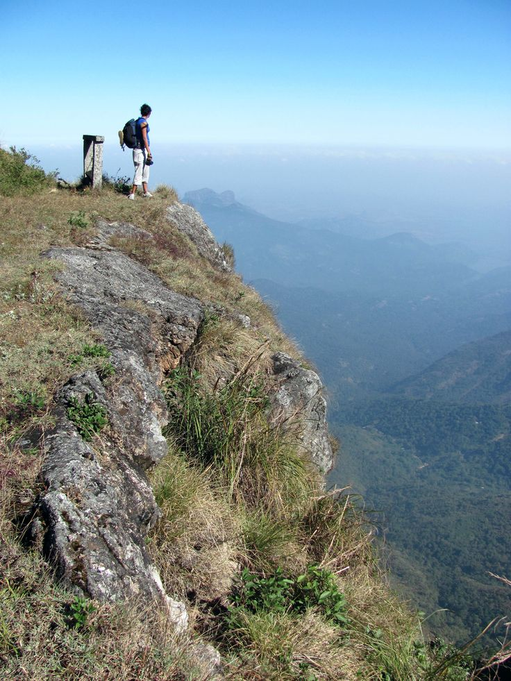 "Hiking at Kodaikanal International School....  ""Not all those who wander are lost."" ― J.R.R. Tolkien,"