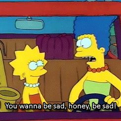 How good friends hope you cope with The Sads. Adorable 4 gifs on why Simpsons are awesome