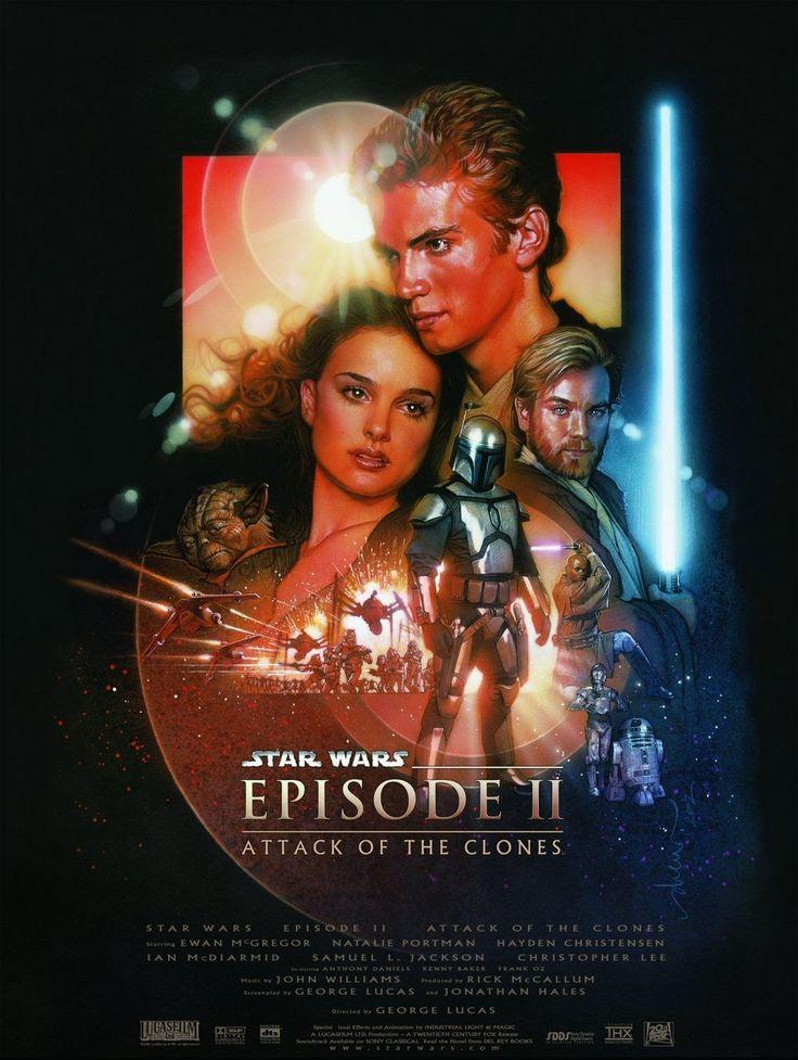 #002_ Star Wars: Episódio II - Ataque dos Clones (de George Lucas, 2002, EUA), visto em digital em 03/01/2016