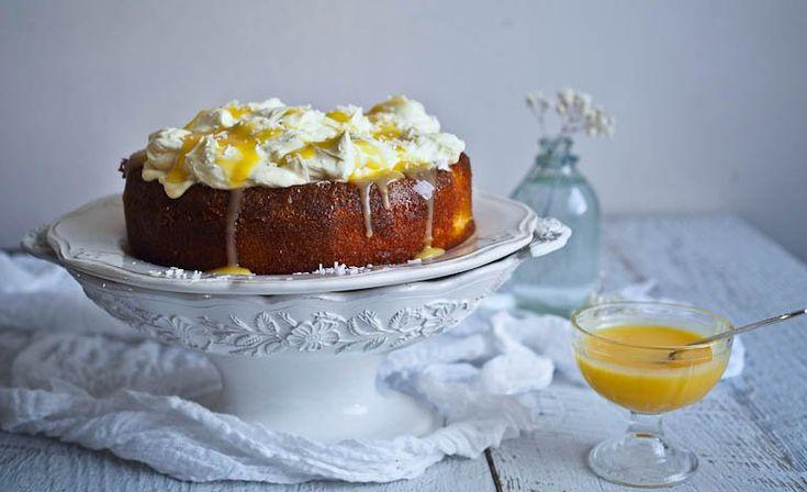 Lulu, The Lemon Mascarpone Cream Cloud Cake