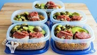 Fitness - Turkey Meat Loaf Minis for Bodybuilding Meal Prep (Pastel de Carne de Pavo)