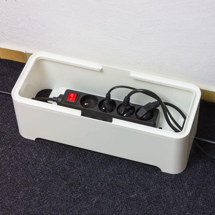 M s de 1000 ideas sobre caja de cable en pinterest ocultar la caja de cable estantes de pared - Caja para ocultar cables ...