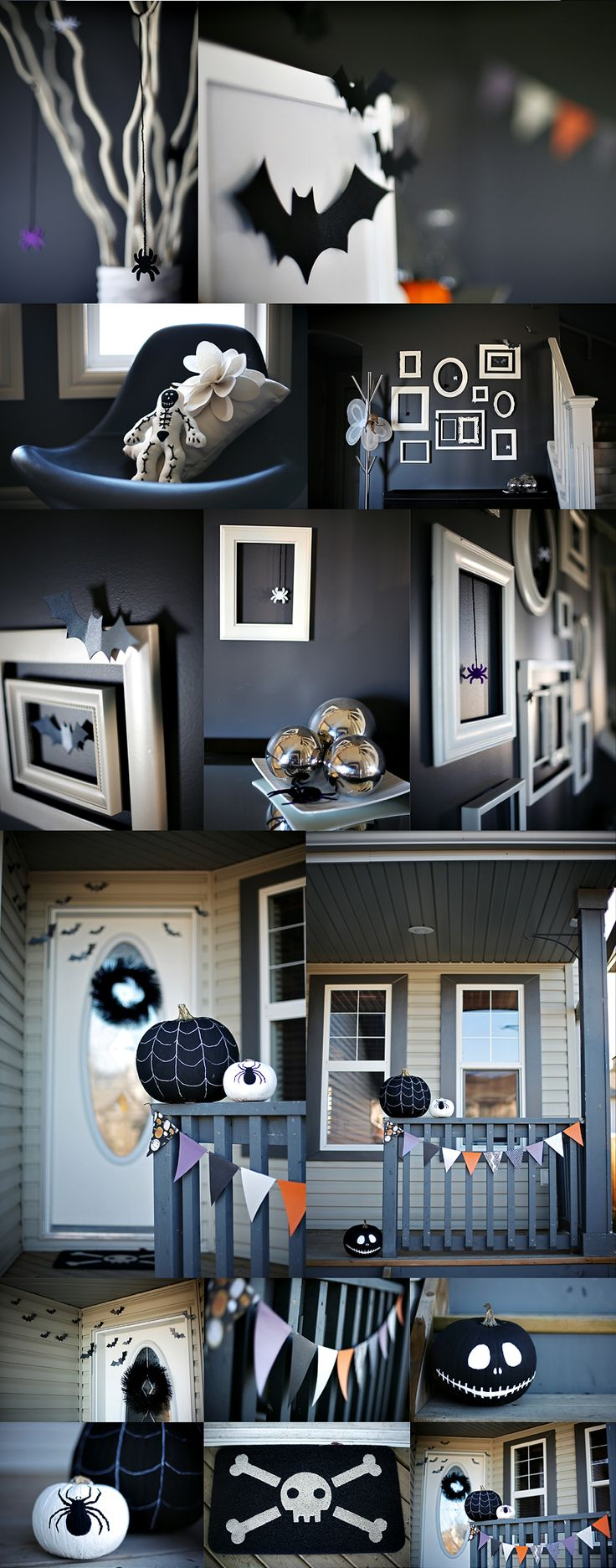 cute modern halloween decor - Cute Halloween Decor