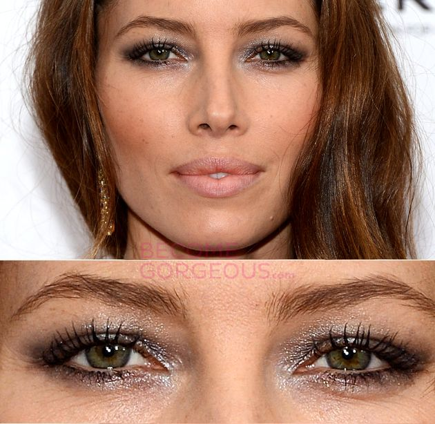 Pictures : Makeup Tips for Small Eyes - Small Eyes Makeup Jessica Biel