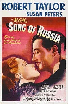 projetor antigo: Canção da Rússia 1944 Leg mp4  1944 , Darryl Hickman , Drama/Musical/Romance , Gregory Ratoff , Joan Lorring , John Hodiak , Legendado , Ray Teal , Robert Taylor , Tommy Rall