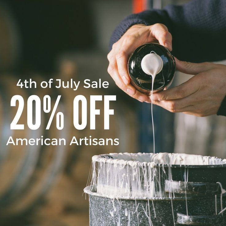 We are celebrating America's Independence Day! Get 20% Off some of the finest artisanal food products from America. For a limited time only.