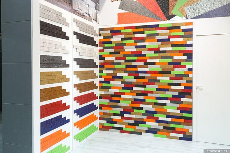 Самые яркие цвета плитки под кирпич у фабрики Granitoforte