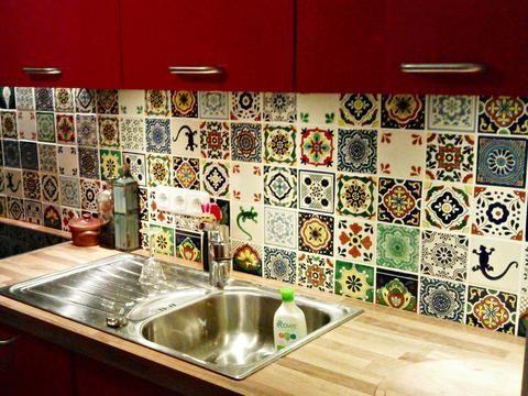 Přes 25 nejlepších nápadů na téma Fliesenspiegel na Pinterestu - küchenspiegel selber machen