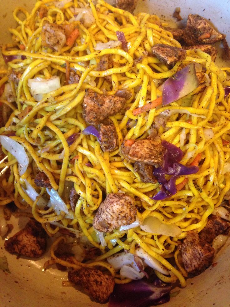 Guyanese Style Chow Mein In 2019 Guyanese Recipes Guyana Food Ethnic Recipes