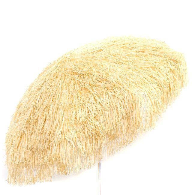 Palapa Tiki Umbrella 6 Foot Patio Umbrella Pole (Palapa 6u0027  Natural/