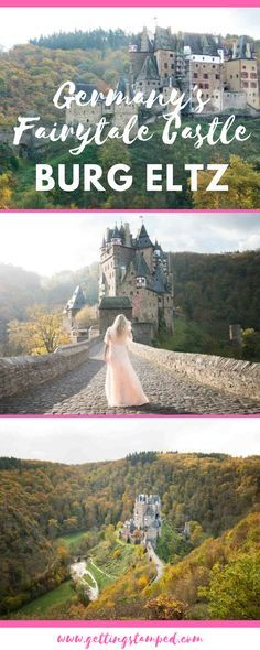 Tucked deep into the forest is one of the most magical castles in Germany. Eltz Castle is like no other castle in Germany as you won't see it perched high up on the hill miles before arriving. It may not be on the famous Romantic Road which visits some of the best castles in Germany, but it's definitely worth the detour. We've put together everything you need to know about visiting Eltz || Getting Stamped - Couple Travel & Photography Blog
