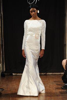 Modest Sarah Jassir wedding dresses spring 2013