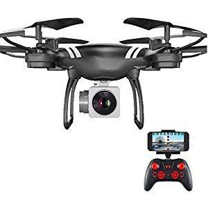 wuyiti Auto Rückkehr Quadcopter Fernbedienung Hubschrauber WiFi Vierachsige Ech…