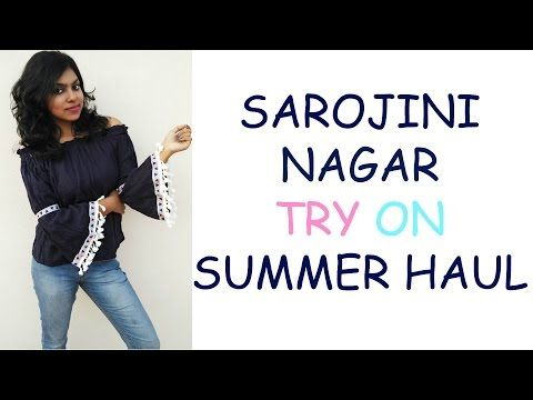 Sarojini nagar HAUL, try on clothing summer haul, the place gives me so much excitement & if you are someone like me then I bet you would want to shop as well. I could find some summer tops & clothing during winter months there.