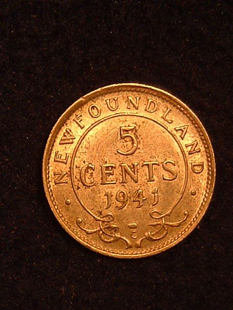 Newfoundland 5¢-yes before joining Canada we had our own currency.