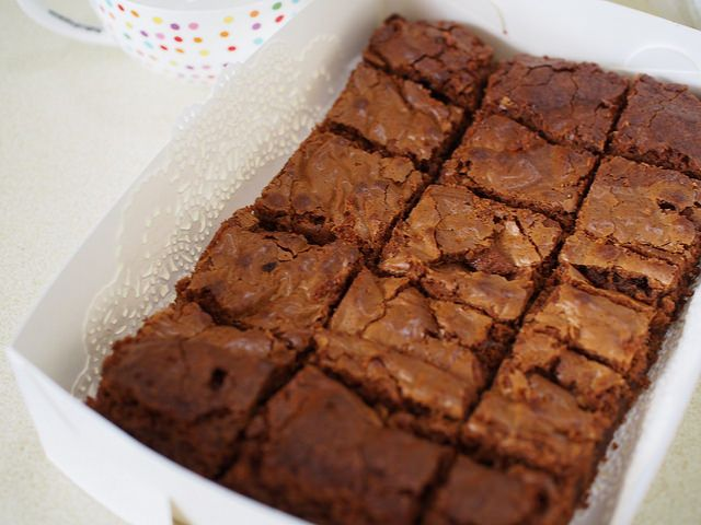 best ever chocolate brownies – for a small family or a big crowd
