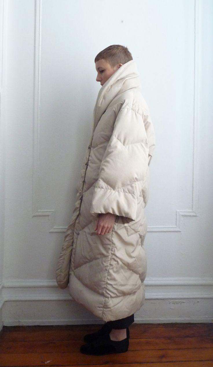 Bill Blass Puffer Coat / manteau de Duvet / Down manteau