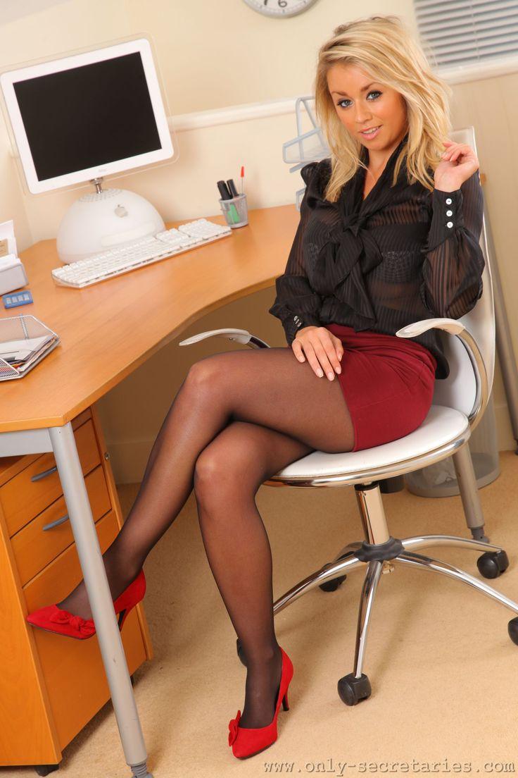 Melissa Debling  Office  Secretary Fantasy  Pinterest-4628