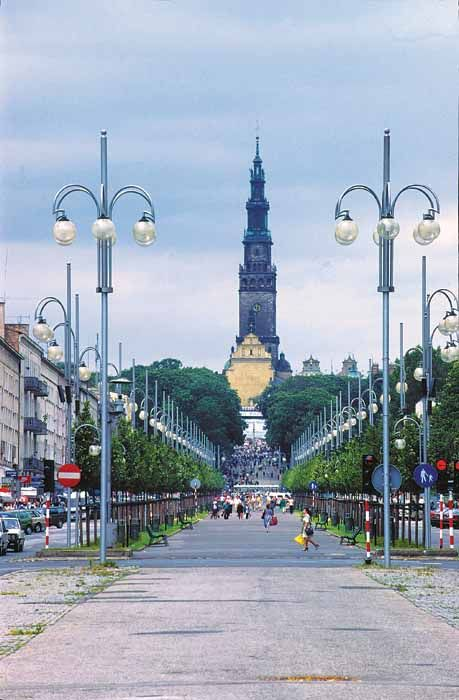 Częstochowa, Poland. Will be spending the summer here!
