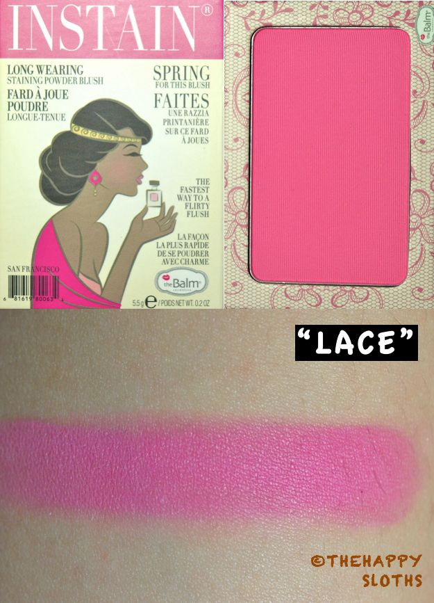 "TheBalm Instain Blush in ""Lace"""