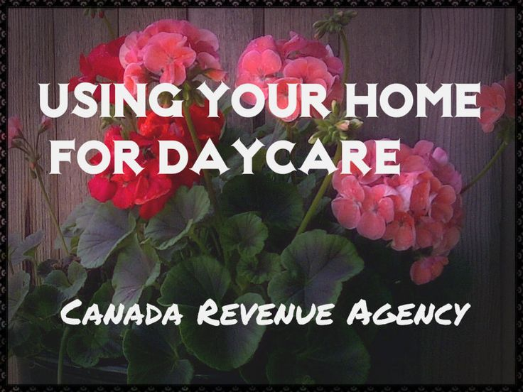 Tax Rules - Using your home for Daycare