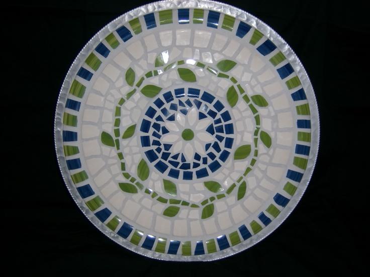 Mosaic Tray (Amy's Mosaics)