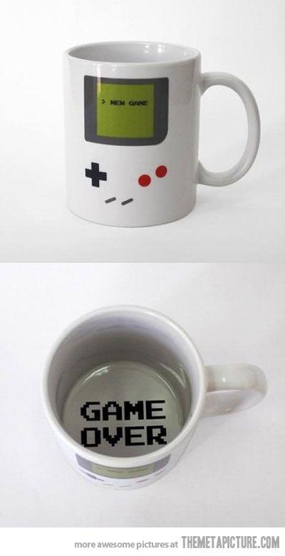 A gamer's mug #Merchandising #gamers #videojuegos