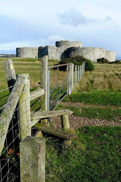 Camber Castle, Rye, East Sussex, UK by Peter Lovette. Built by Henry VIII in 1544 to defend the harbour of Rye