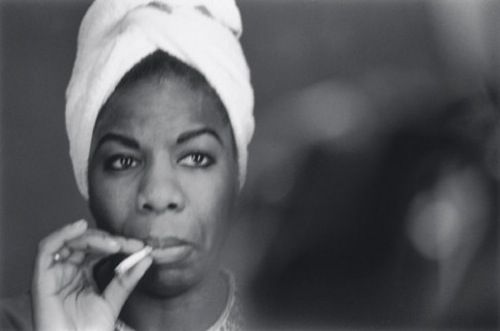nina simone - a woman with tremendous passion, intelligence and talent - a formidable force. i adore her.