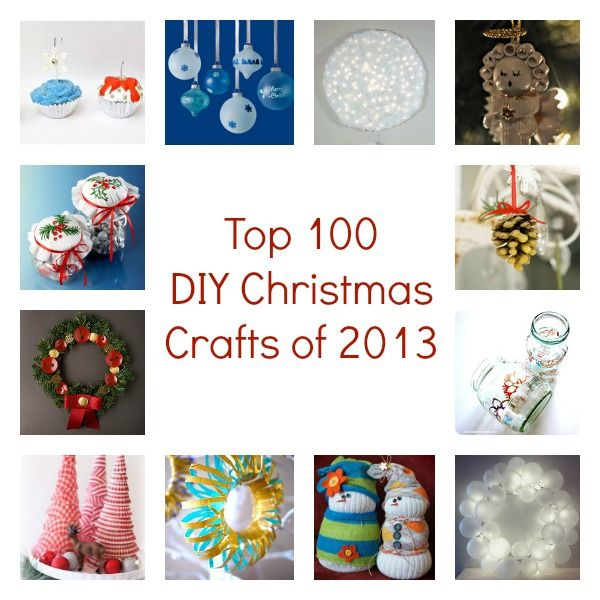 Check out our Top 100 DIY Christmas Crafts of 2013: DIY Christmas Ornaments, Homemade Christmas Decorations, DIY Christmas Gifts, and More!