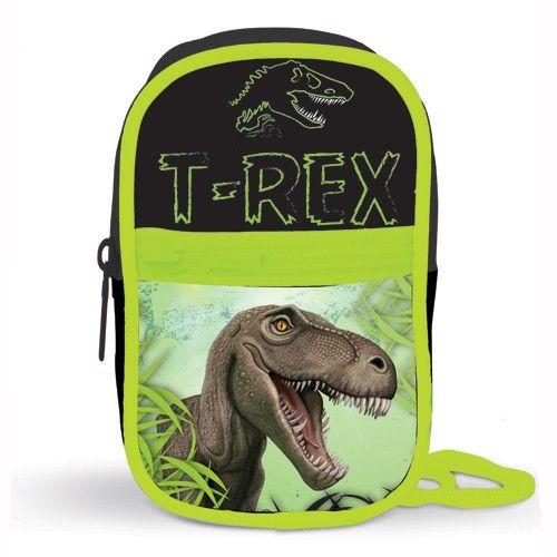 Peňaženka na krk / na mobil T-rex