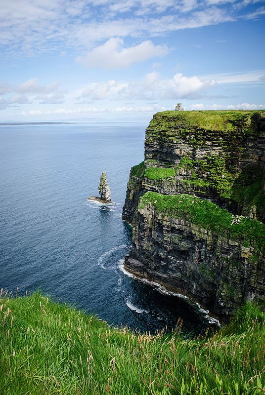 Cliffs of Moher, Ireland and O'briens Tower