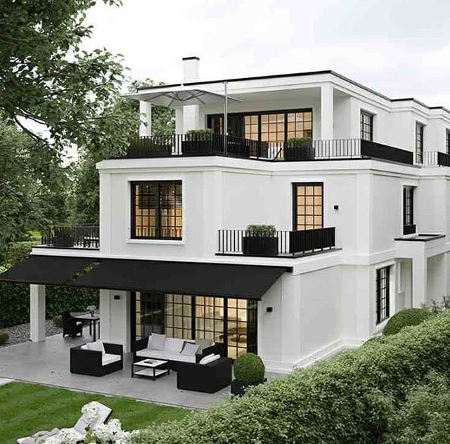 Black And White Exterior Dream House Exterior House Designs Exterior House Design