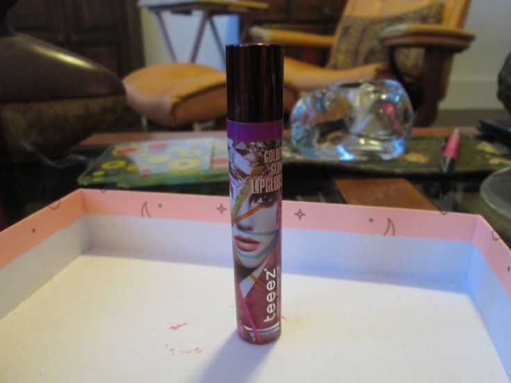 Teeez Golden Glow Lipgloss in Roaming Mauve. Swacted only. $7 shipped.