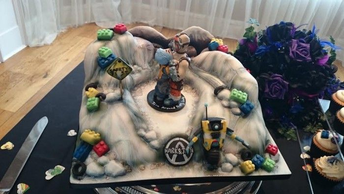 Jenn's Borderlands Cake Topper