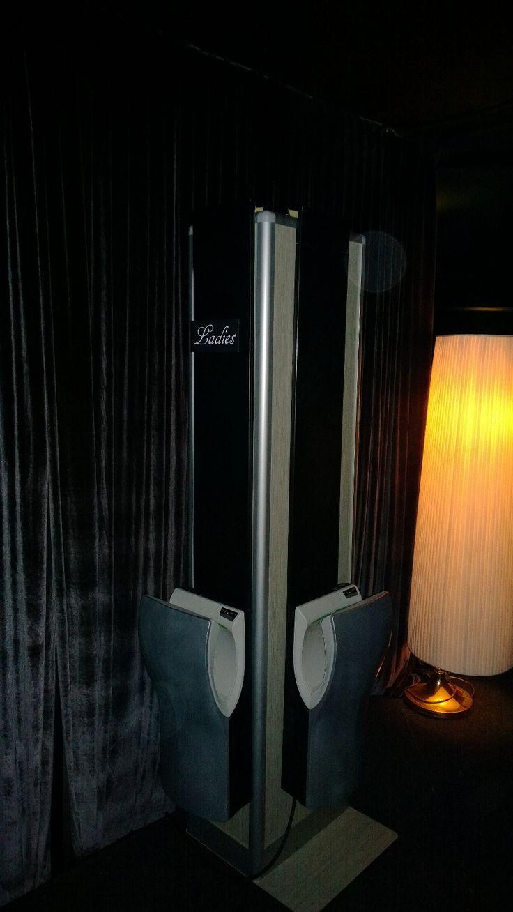 portable bathroom model: dot tower  #fashiontoilet #weddingsolution #interiordesign