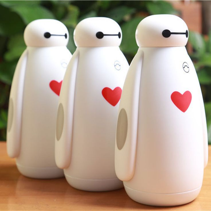 Red Heart Stainless Steel Liner Vacuum Insulated Drinking Bottle Thermos Drinkware Coffee Tea Flasks Warming Hands Thermal Cup