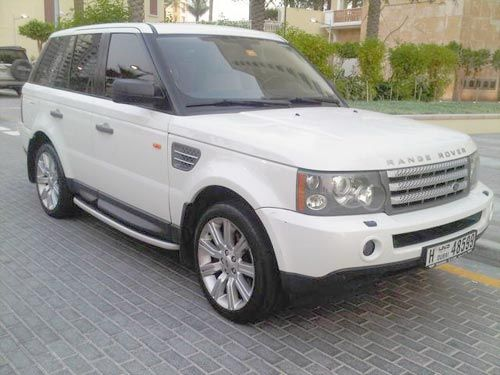 range rover sport supercharged white | Land Rover Range Rover Sports 2006 | إعلانات السيارات ...