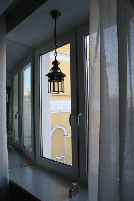 mirrored windows reveal