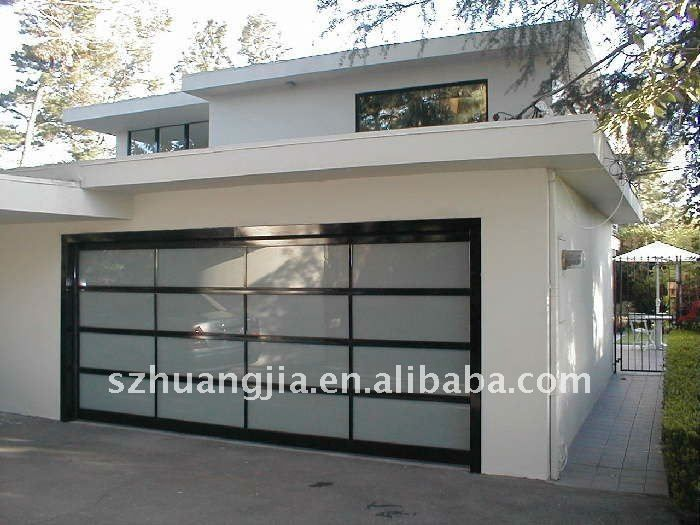 Exquisite Automated Sectional Glass Garage Door