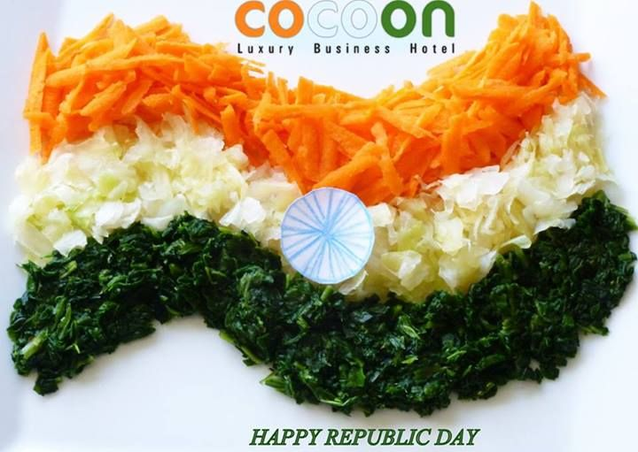 Freedom in the mind, Faith in the words, Pride in our hearts & Memories in our souls… Lets salute, The Nation on Republic Day! - TEAM COCOON