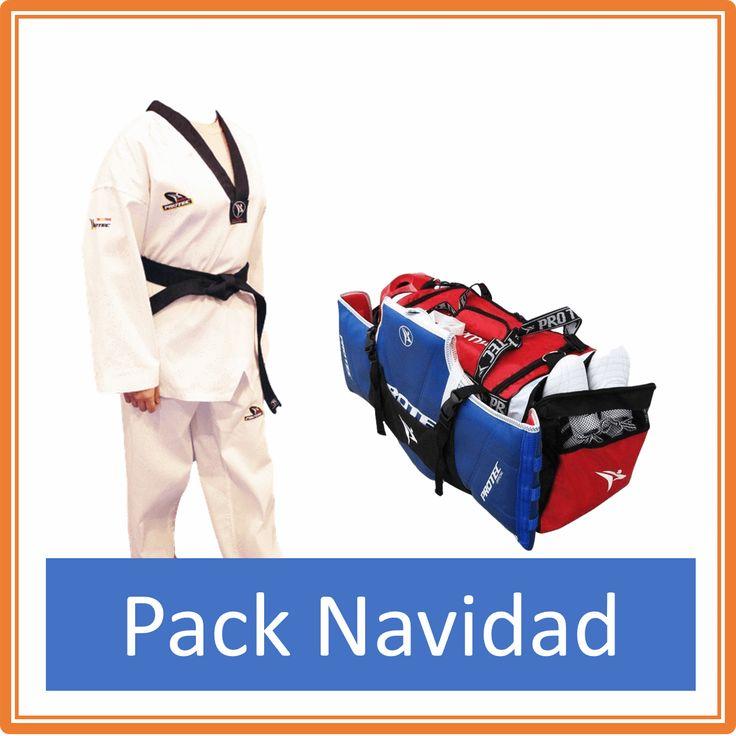 Pack Dobok Taekwondo Inspire cuello negro con Bordado en espalda + Bolsa Protec M - €49.00   https://soloartesmarciales.com    #ArtesMarciales #Taekwondo #Karate #Judo #Hapkido #jiujitsu #BJJ #Boxeo #Aikido #Sambo #MMA #Ninjutsu #Protec #Adidas #Daedo #Mizuno #Rudeboys #KrAvMaga #Venum