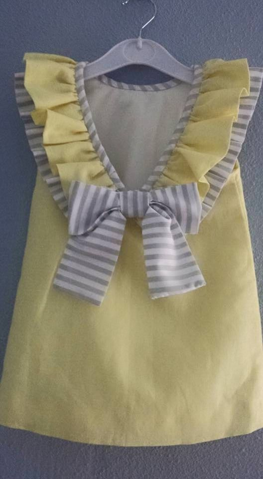 Toddler girls dress. so cute.