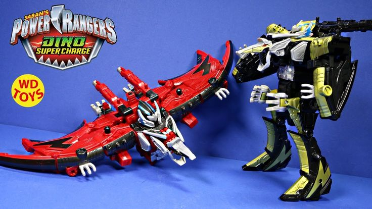 New Power Rangers Dino SuperCharge Limited Edition Ptera Charge Megazord...